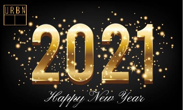 Happy New Year 2021 by Urban Tandoor NJ Team